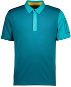 Product image for Scott Trail MTN 30 Short Sleeve Cycling Polo Shirt