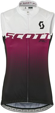 Scott RC Pro Without Sleeves Womens Cycling Shirt / Gilet