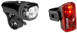 Product image for Kryptonite Alley F-275 Avenue R-19 2 LED USB Light Set