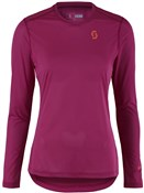 Product image for Scott Trail MTN Aero Long Sleeve Womens Cycling Shirt / Jersey