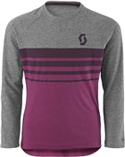 Scott Trail DRI 40 Long Sleeve Junior Cycling Shirt AW17