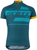 Scott RC Team Short Sleeve Junior Cycling Shirt / Jersey