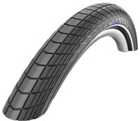 "Product image for Schwalbe Big Apple RaceGuard E-25 Endurance Performance Wired 26"" Urban MTB Tyre"