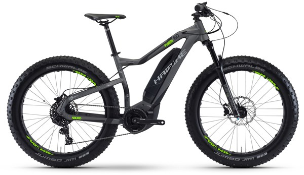 "Haibike sDuro FatSix 6.0 26""  2017 - Electric Bike"