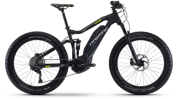 "Image of Haibike SDURO Full FATSIX 7.0 26"" 2017 - Electric Bike"