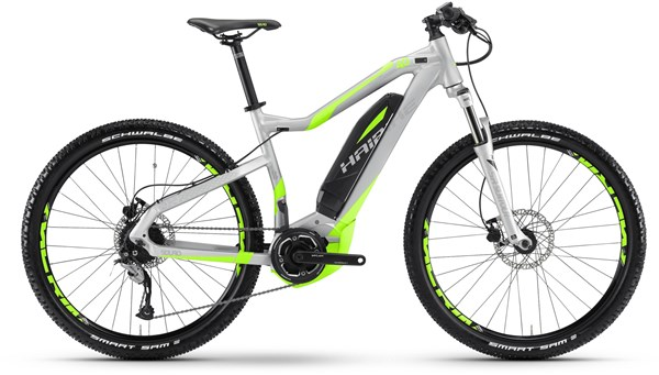 "Haibike sDuro HardSeven 4.0 27.5""  2017 - Electric Mountain Bike"