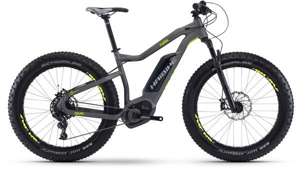 "Image of Haibike xDuro FatSix 6.0 26""  2017 - Electric Bike"
