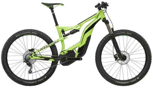 "Cannondale Moterra 3 27.5"" 2017 - Electric Mountain Bike"