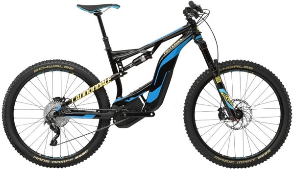 "Cannondale Moterra LT 2 27.5"" 2017 - Electric Mountain Bike"