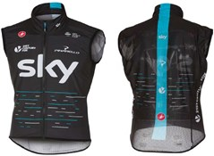 Product image for Castelli Team Sky Pro Light Wind Cycling Vest / Gilet