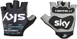 Castelli Team Sky Roubaix Short Finger Cycling Gloves