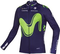 Product image for Endura Movistar Long Sleeve Team Jersey AW17
