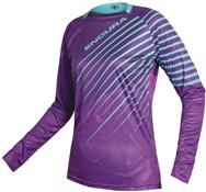 Endura MT500 Print Womens Long Sleeve Trail Jersey SS17