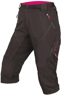 Endura Hummvee II 3/4 Womens Cycling Shorts AW17