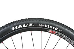"Product image for Halo H-Block 26"" Tyres"