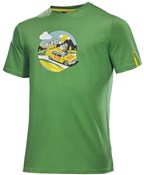 Mavic SSC Yellow Car Tee SS17