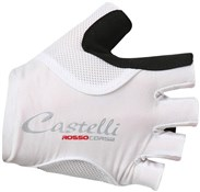 Castelli Rosso Corsa Pave Womens Short Finger Cycling Gloves SS17