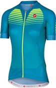 Castelli Aero Race Womens FZ Short Sleeve Cycling Jersey SS17