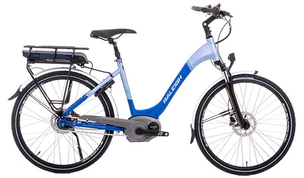 "Raleigh Motus Hub Gear Nexus 8 Speed 26"" Womens 2018 - Electric Hybrid Bike"