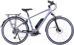 Raleigh Captus 9 Speed 700c 2017 - Electric Hybrid Bike