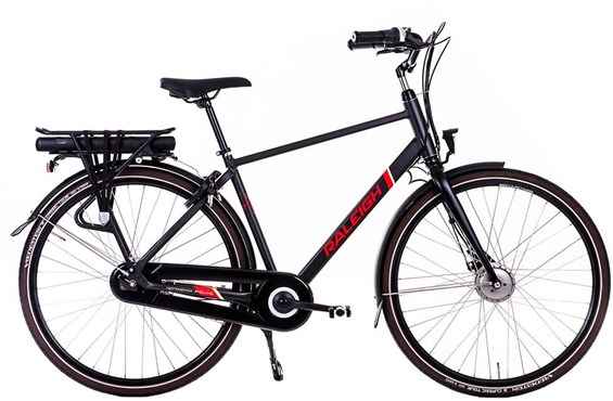 Raleigh Array Hub Emotion 7 Speed 700c 2018 - Electric Hybrid Bike