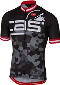 Product image for Castelli Attacco FZ Short Sleeve Cycling Jersey SS17