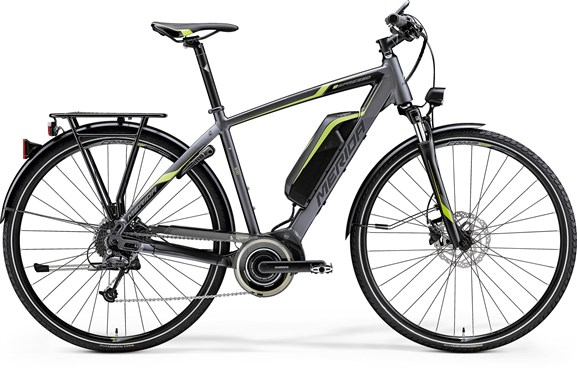 Merida eSpresso 600 EQ Hybrid 2017 - Electric Hybrid Bike
