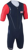 Huub Dave Scott Sleeved Long Course GB Triathlon Suit