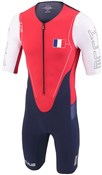 Huub Dave Scott Sleeved Long Course France Triathlon Suit