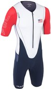 Huub Dave Scott Sleeved Long Course USA Triathlon Suit