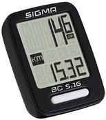 Product image for Sigma BC 5.16 Wired Cycle Computer