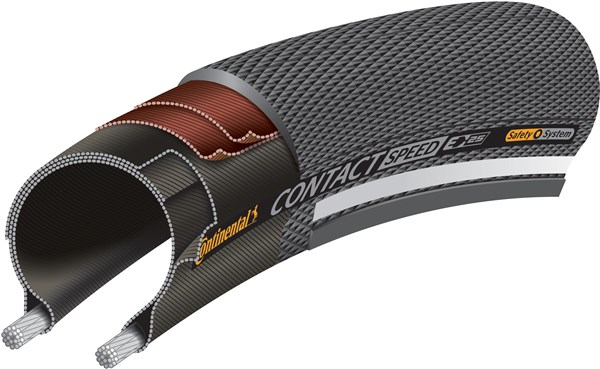 Continental Contact Speed Reflective 700c Tyre