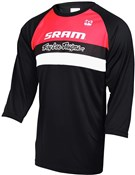 Product image for Troy Lee Designs Ruckus SRAM TLD Racing Team 3/4 Three Quarter Sleeve Cycling Jersey