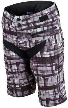 Troy Lee Designs Skyline Shell Plaid MTB Womens Cycling Shorts