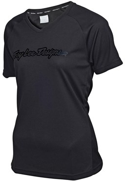 Troy Lee Designs Skyline Solid Womens Short Sleeve Cycling Jersey