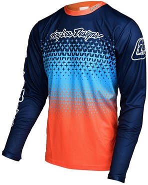 Troy Lee Designs Sprint Starburst Youth Long Sleeve Cycling Jersey