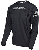 Product image for Troy Lee Designs Sprint Solid Youth Long Sleeve Cycling Jersey