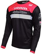 Product image for Troy Lee Designs Sprint Sram TLD Racing Team Youth Long Sleeve Cycling Jersey