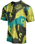 Troy Lee Designs Terrain Chop Block Short Sleeve Cycling Jersey