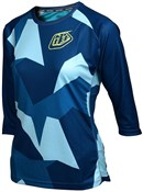 Troy Lee Designs Ruckus Chop Womens 3/4 Sleeve Cycling Jersey