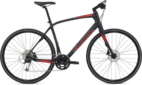 Specialized Sirrus Sport Carbon 700c - Nearly New - L - 2017 Hybrid Bike