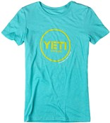 Yeti Button Ride Womens Short Sleeve Jersey