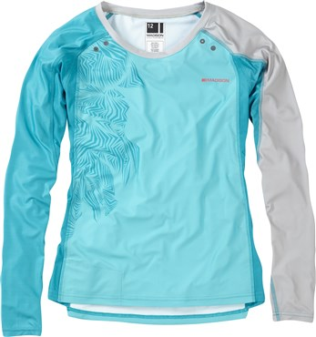 Madison Womens Flux Enduro Long Sleeve Jersey SS17