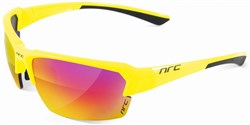NRC P5 Cycling Glasses with Mirror Lenses - Spare Clear Lenses Included