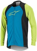 Product image for Alpinestars Drop 2 Full Zip Long Sleeve Cycling Jersey SS17