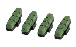 Magura Brake Pads Green Frog, Race Oriented Brake Pad for Hard Anodized and Ceramic Rims