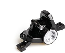 Product image for Magura Brake Caliper MT6 Black Monoblock Cap Silver Incl. Brake Pads