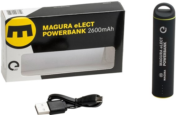 Magura eLECT Powerbank 2.600 mAh 2nd gen, Samsung Lithium ion Rechargeable Battery
