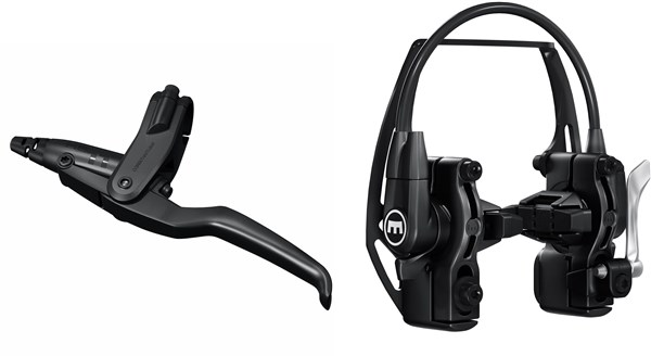 Magura HS11 black, 3-finger lever blade, cover black, for left/right hand use, EASY MOUNT system, single brake