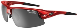 Tifosi Eyewear Crit Half Frame Metallic Red Cycling Sunglasses 2017